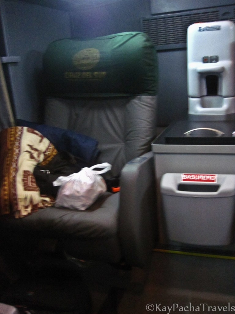 Photo: Luxury bus from Cusco to Puno