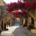 Walking Down Ancient Rhodes